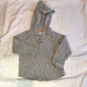 Gymboree Boys 2T hooded sweatshirt